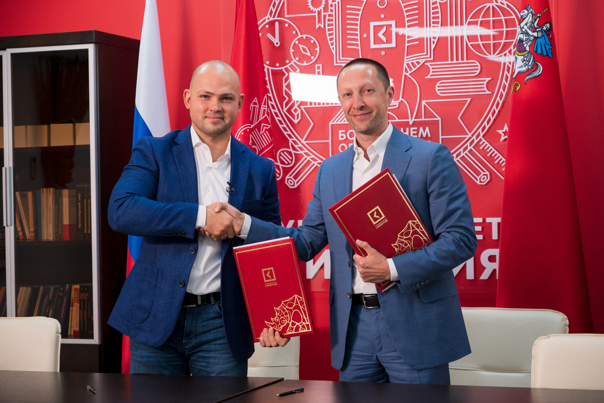«Синергия» и Союз MMA России подписали соглашение о сотрудничестве