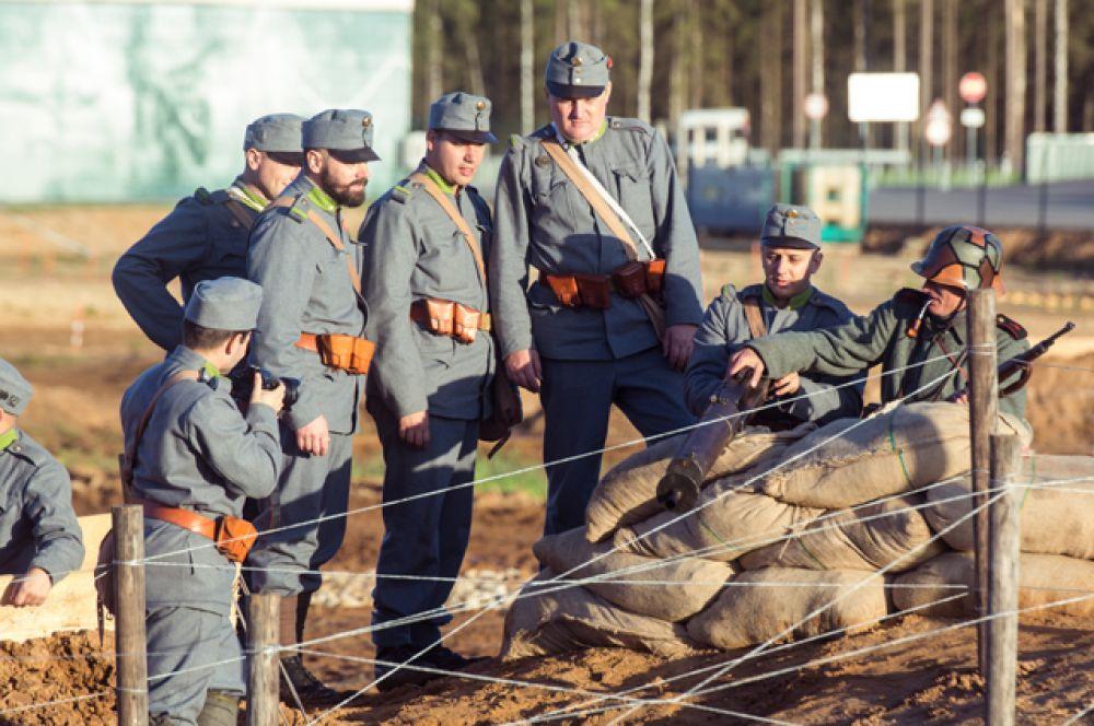 Реконструкцию Брусиловского прорыва провели в Подмосковье