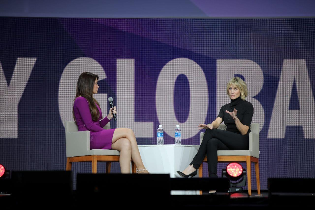 В Нью-Йорке состоялся Synergy Global Forum. Спикером стала актриса Робин Райт