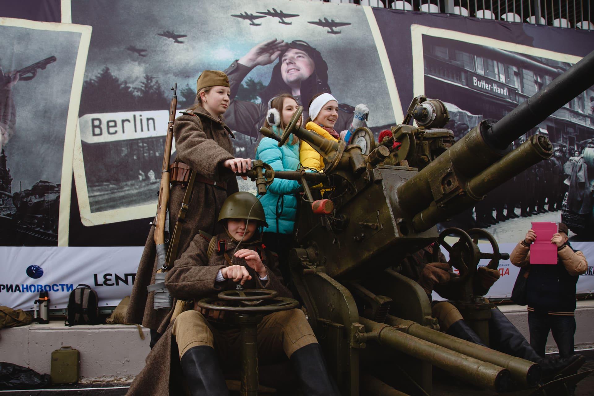 Российская реконструкция «Штурм Берлина» получила премию Eventex