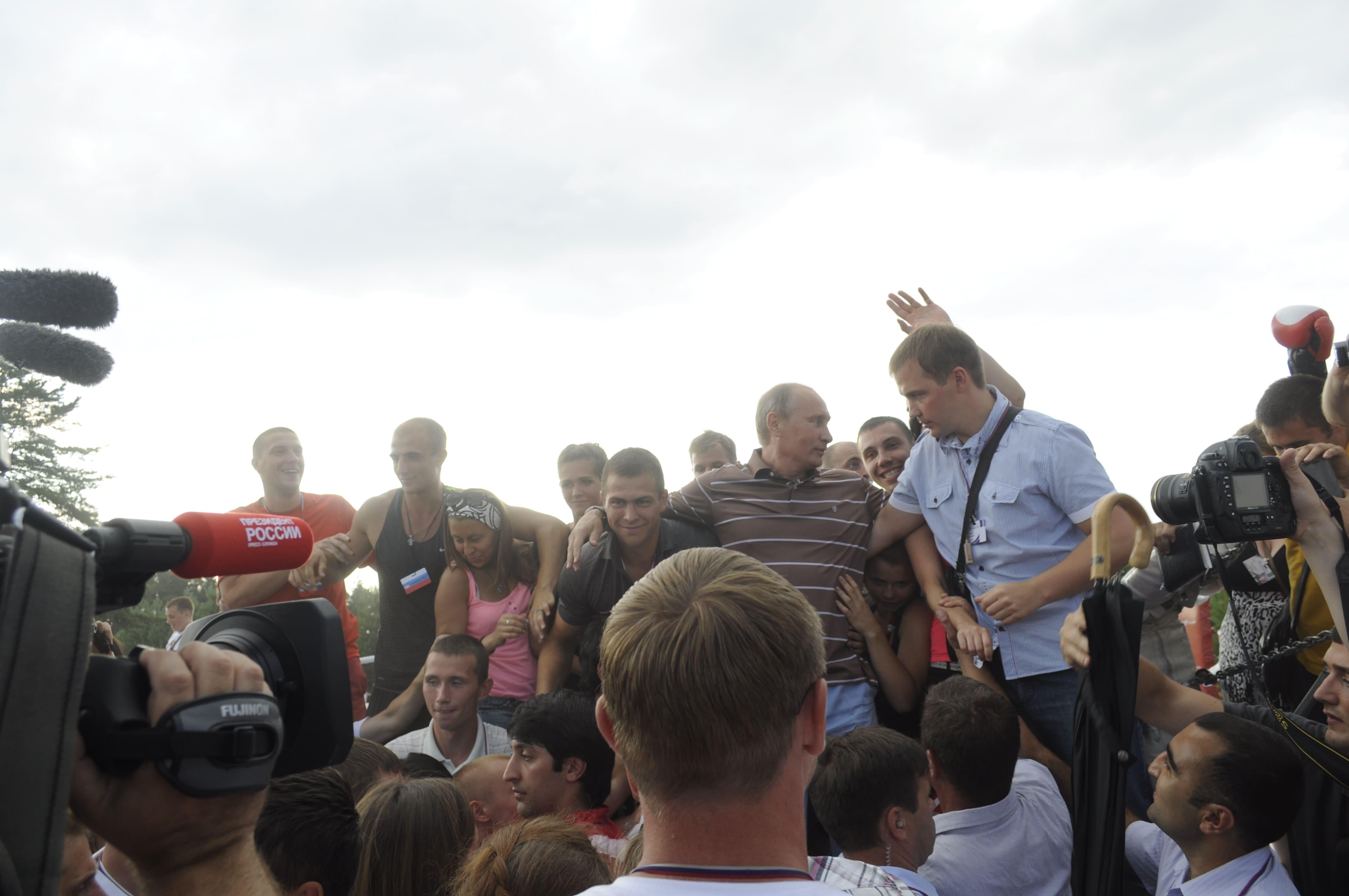 Студенты «Синергии» на форуме «Селигер» презентовали Президенту РФ собственный проект