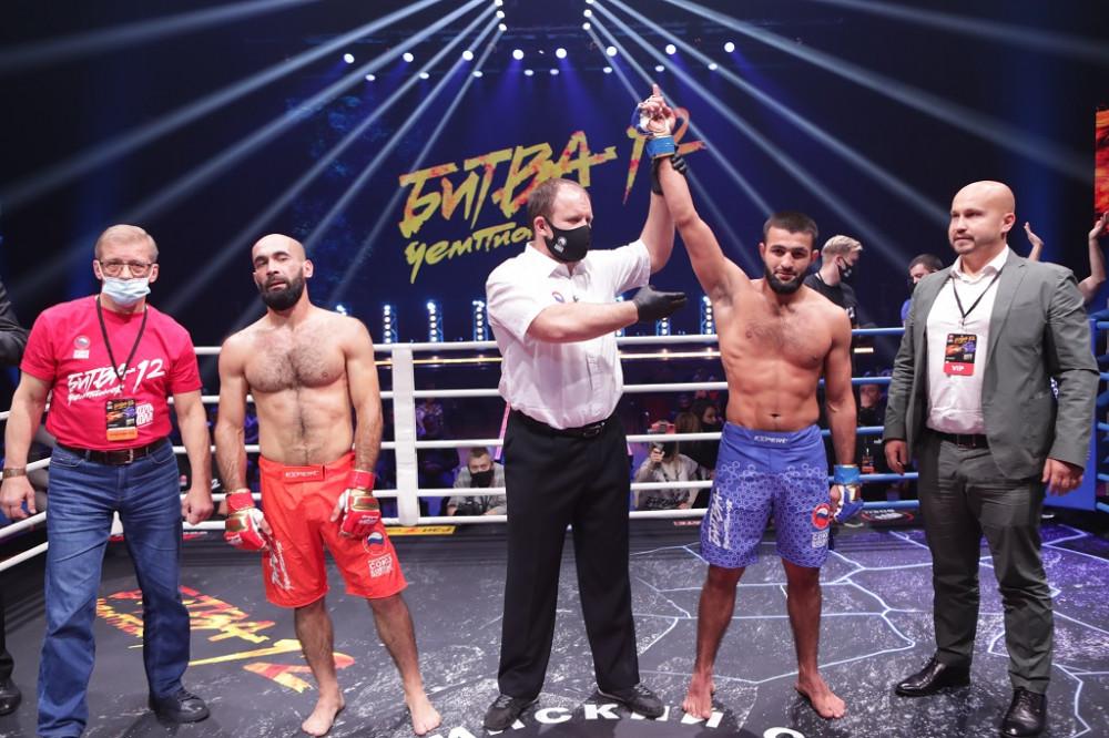 Магомед Махамаев – победитель «Битвы Чемпионов 12»