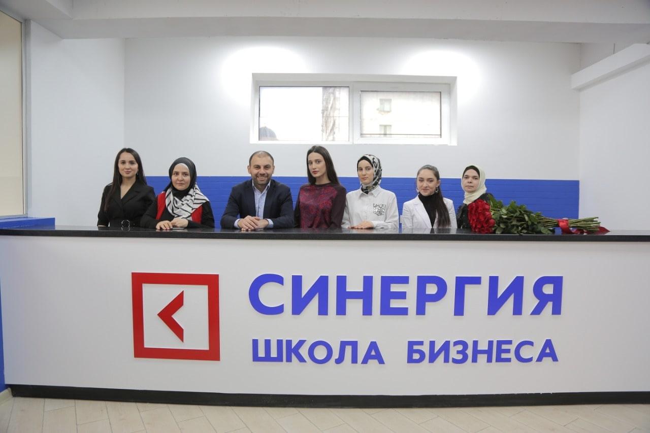Григорий Аветов на открытии франшизы Школы Бизнеса «Синергия»