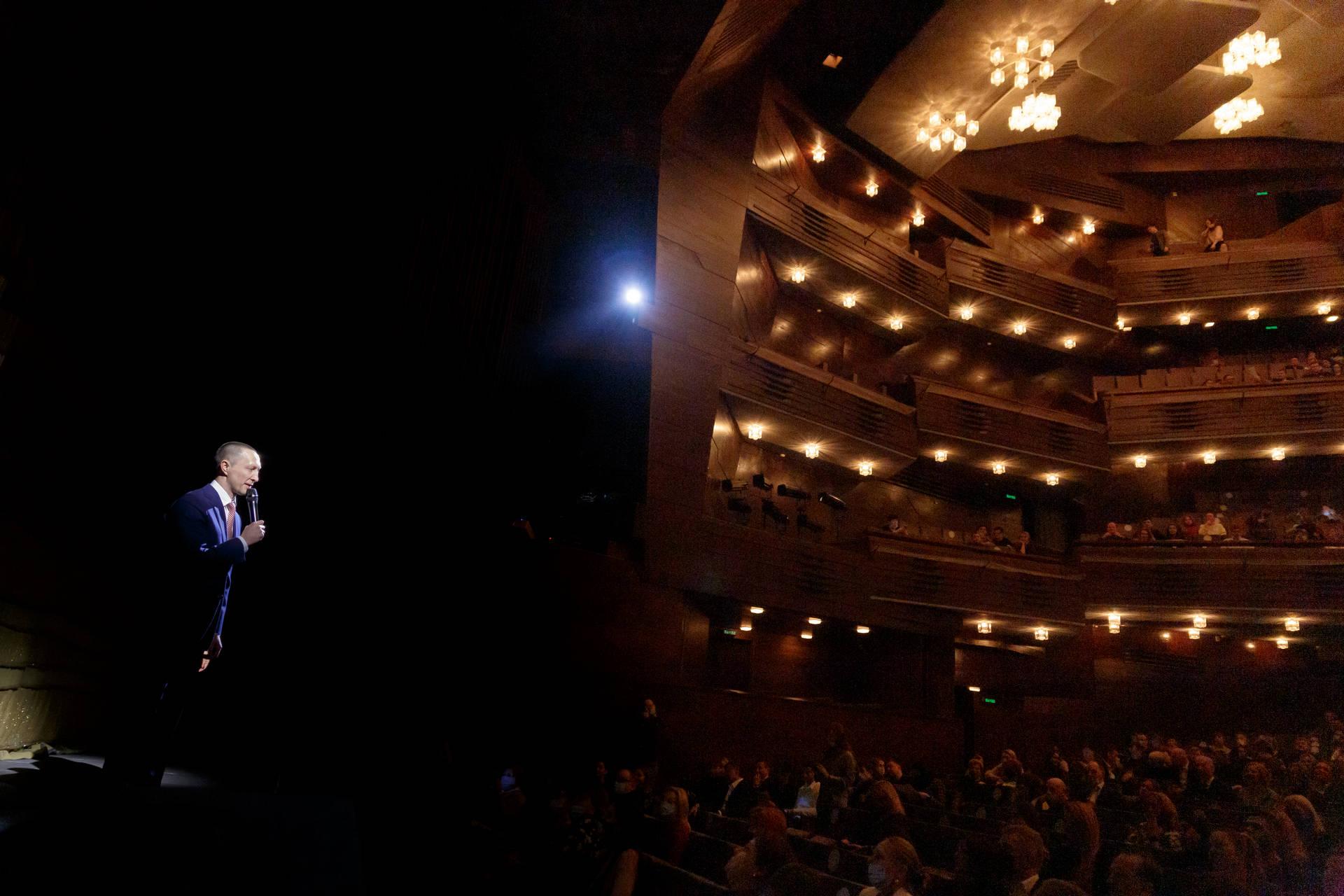 Вадим Лобов посетил закрытый показ в МХАТ им. М. Горького