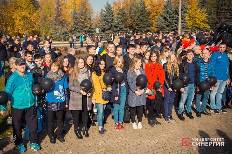 Волонтёры «Синергии» помогли организовать акцию памяти узников лагеря Собибор