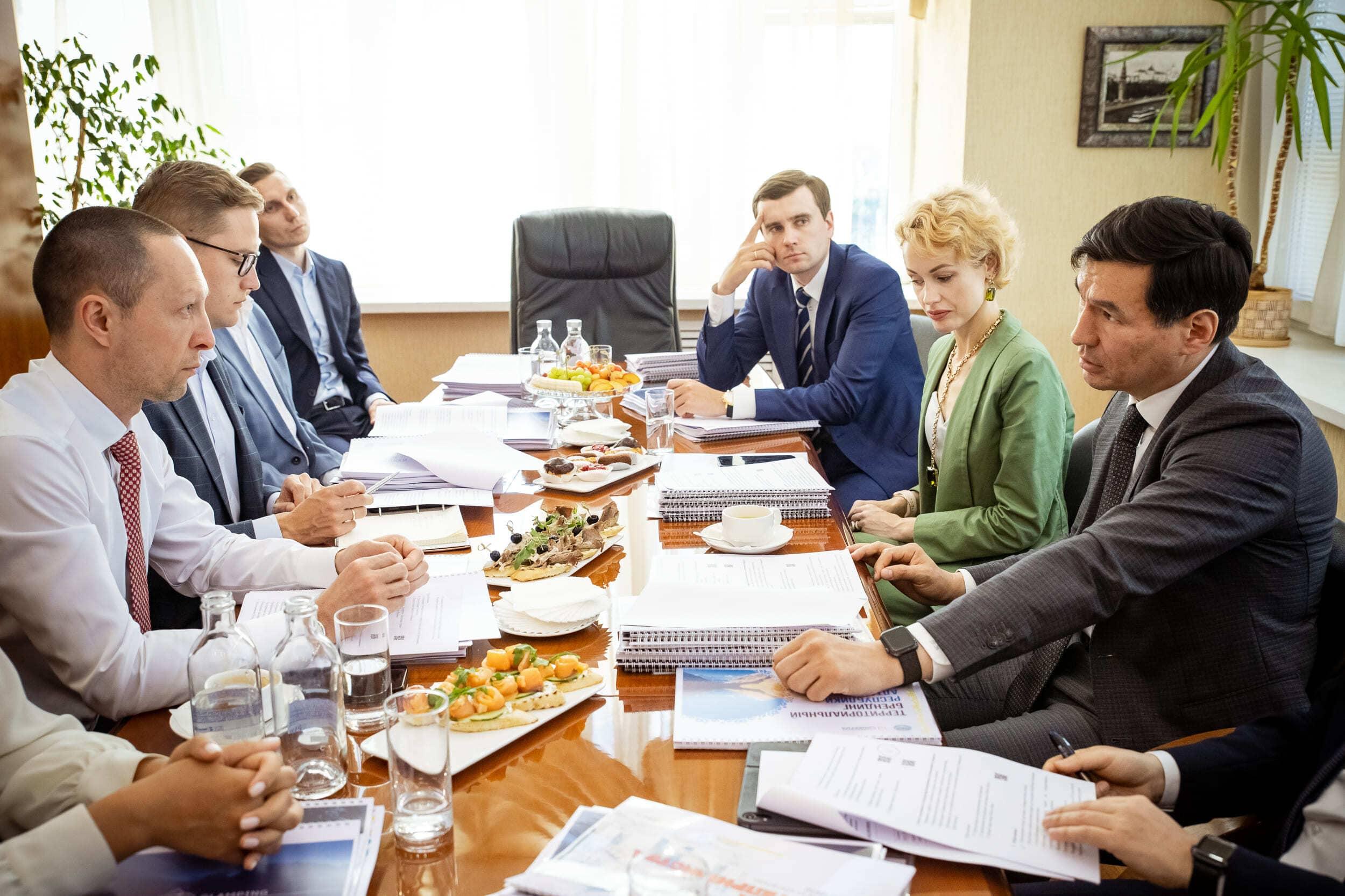 Вадим Лобов обсудил перспективы сотрудничества с Республикой Калмыкия