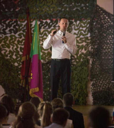 Вадим Лобов выступил перед студентами программы «Кадровый резерв»