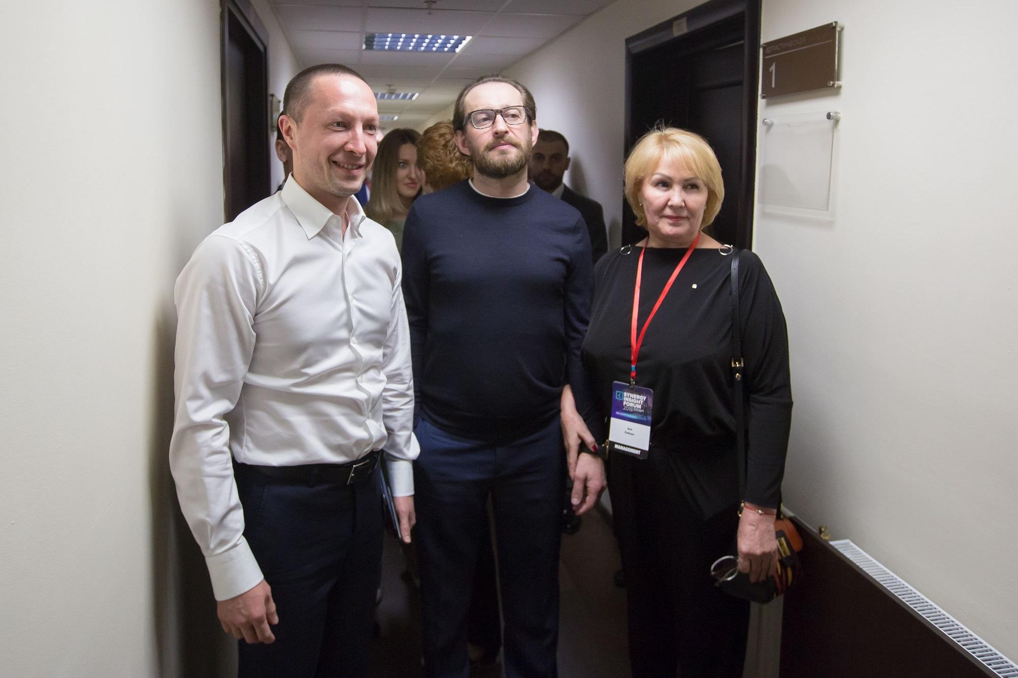 Константин Хабенский на Synergy Insight Forum
