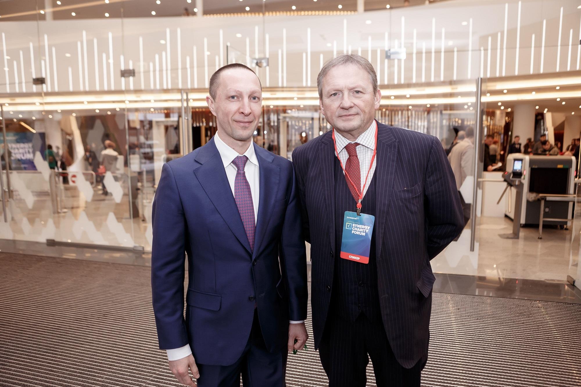 Борис Титов на Synergy Charity Forum