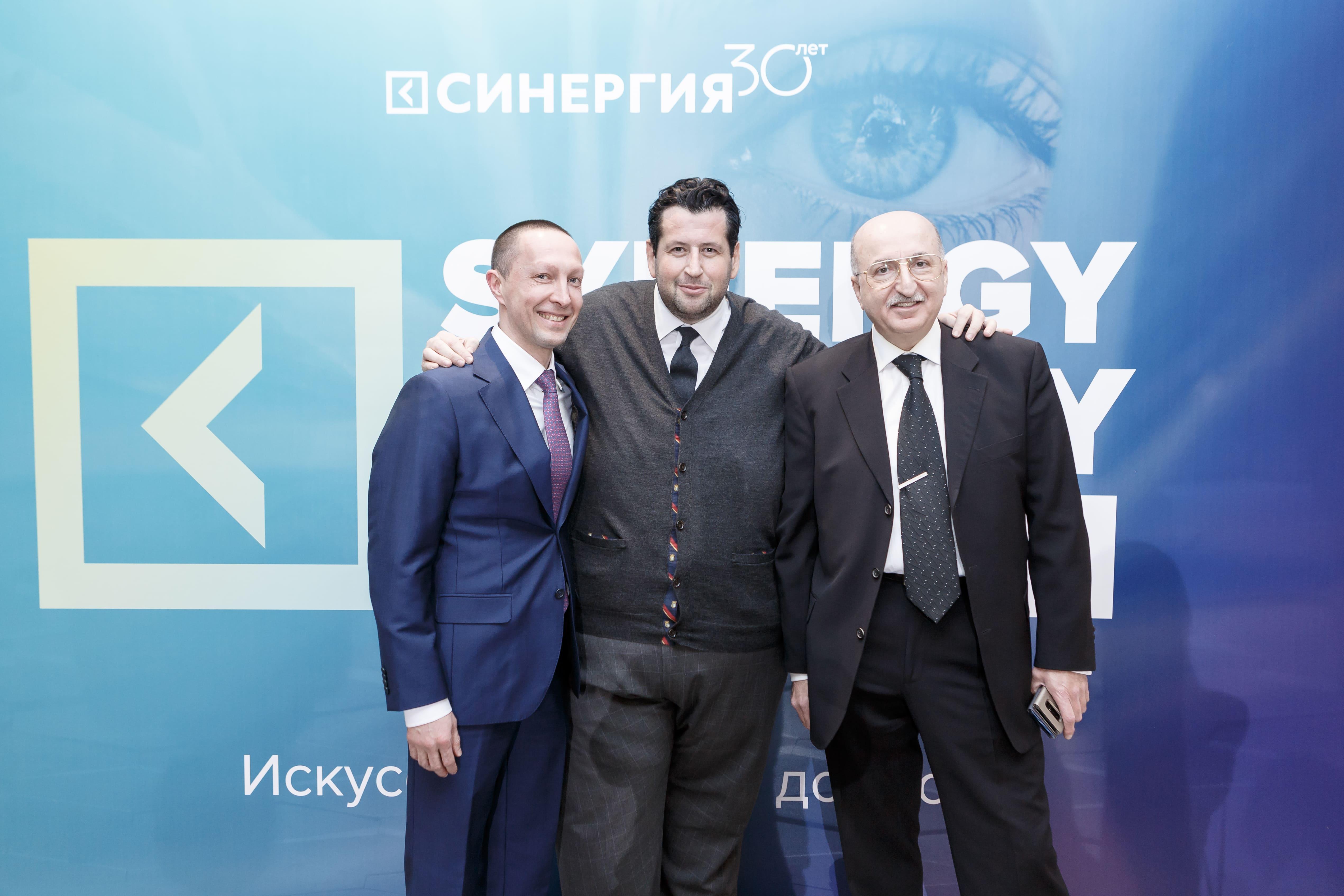 Ян Яновский и Давид Якобашвили на Synergy Charity