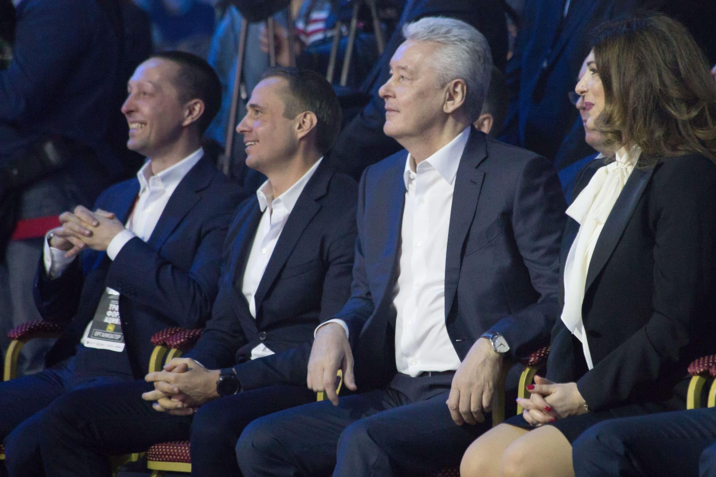 Мэр Москвы Сергей Собянин на форуме «Трансформация»