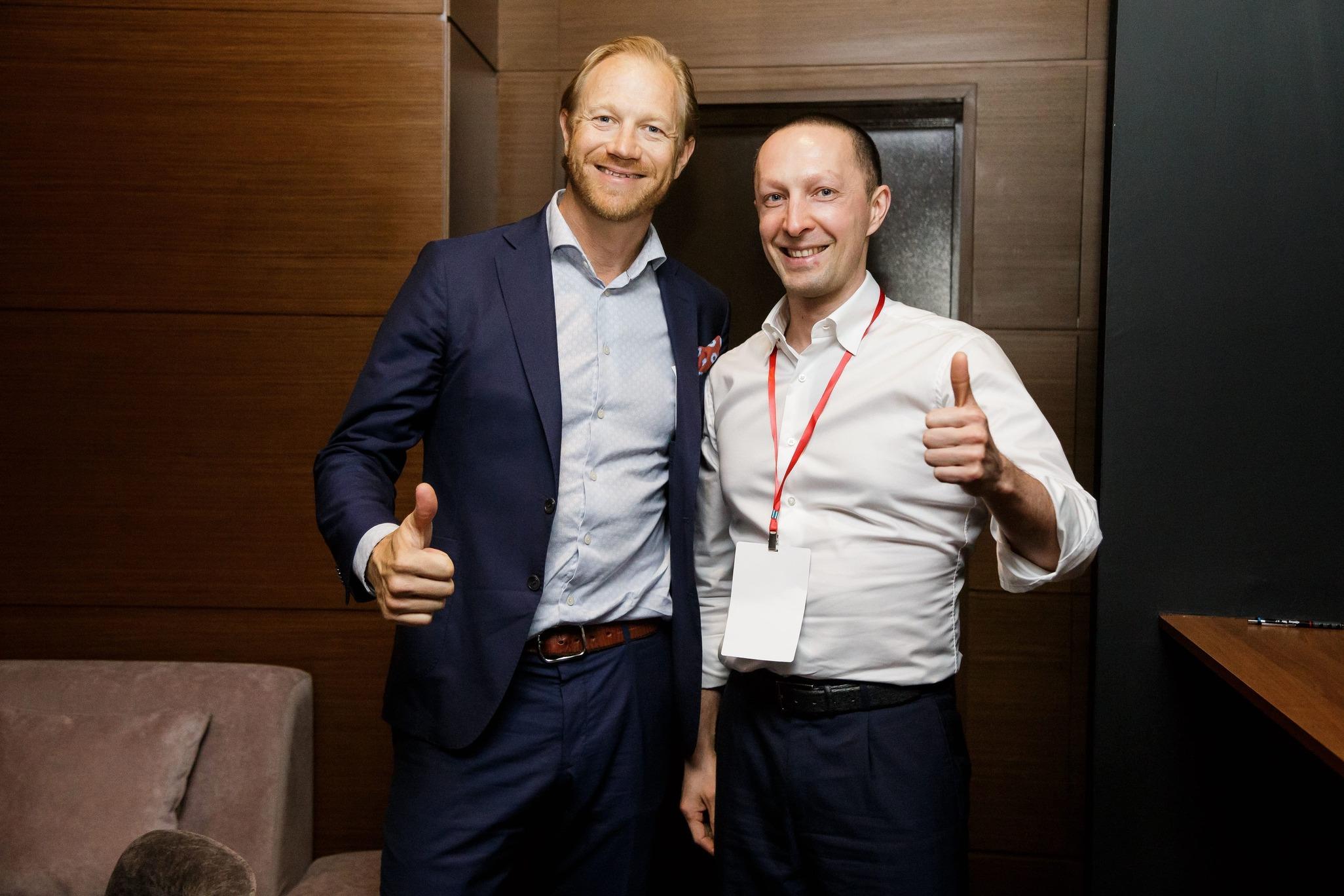 Джонас Кьелберг на Synergy Digital Forum