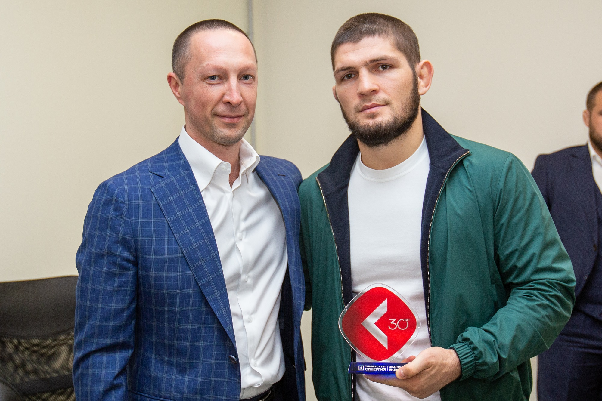 Чемпион UFC Хабиб Нурмагомедов на SGF