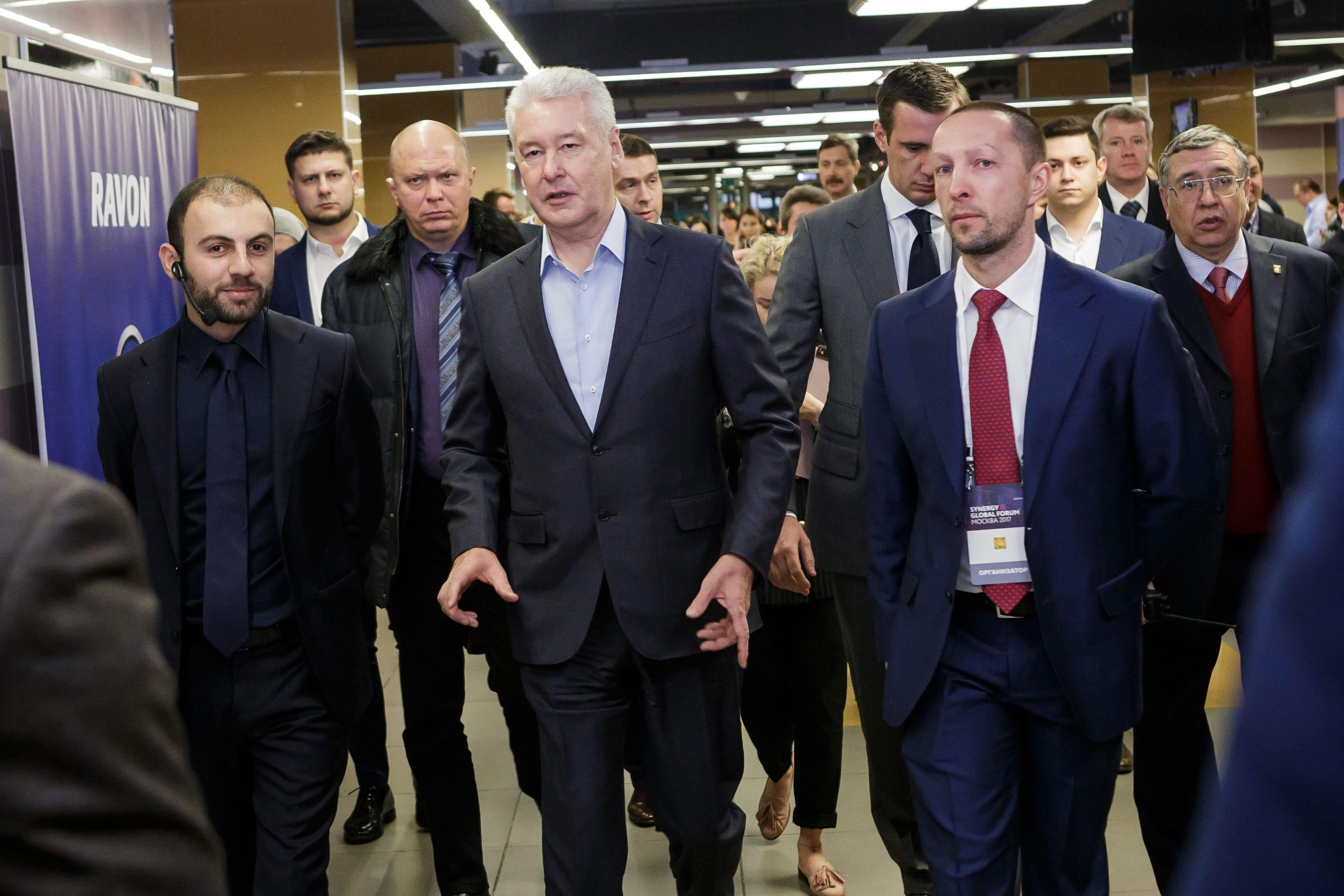 Мэр Москвы Сергей Собянин посетил форум «Синергии»