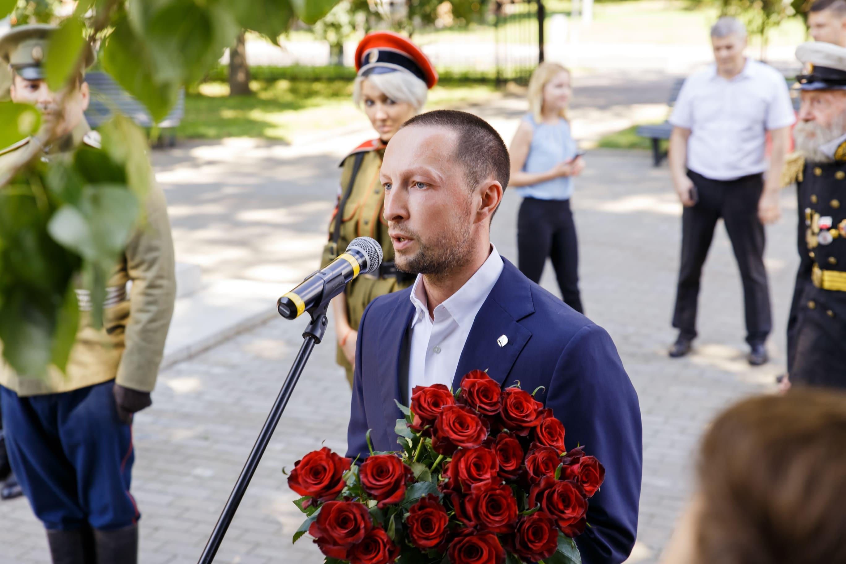 Вадим Лобов выступил на праздновании 9 Мая