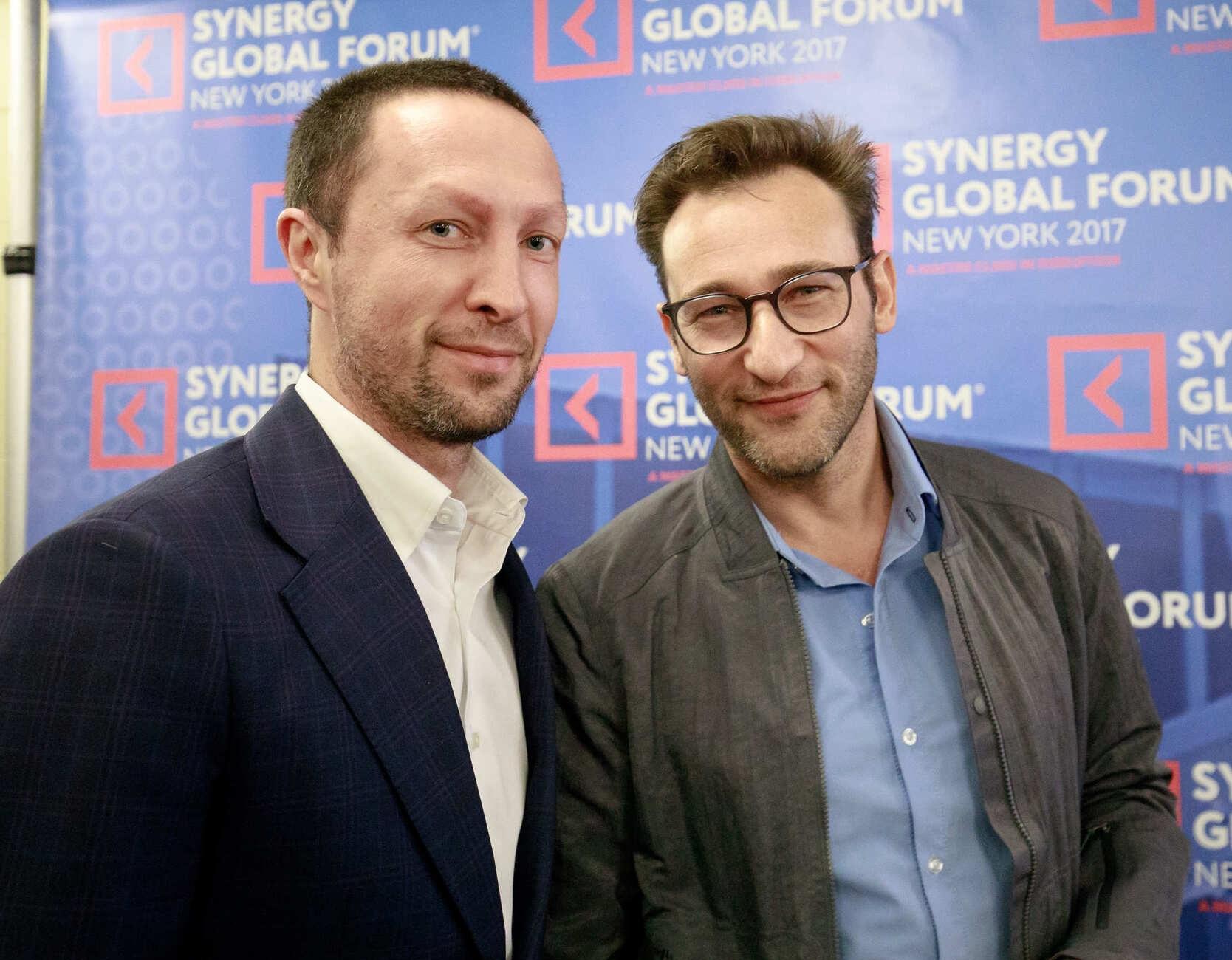 Саймон Синек на Synergy Global Forum New York