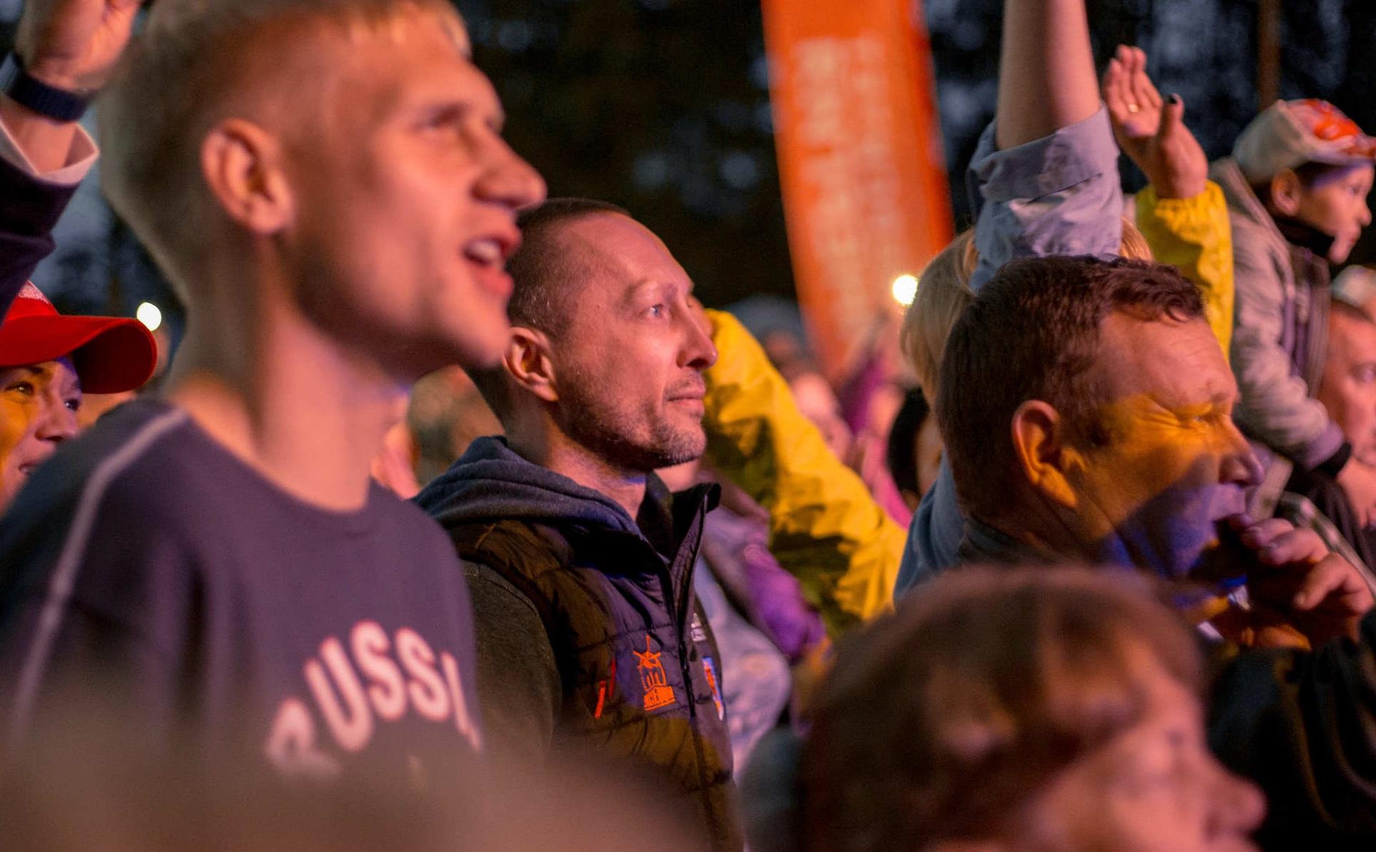 Вадим Лобов на Всероссийском фестивале авторской песни «Гринландия»
