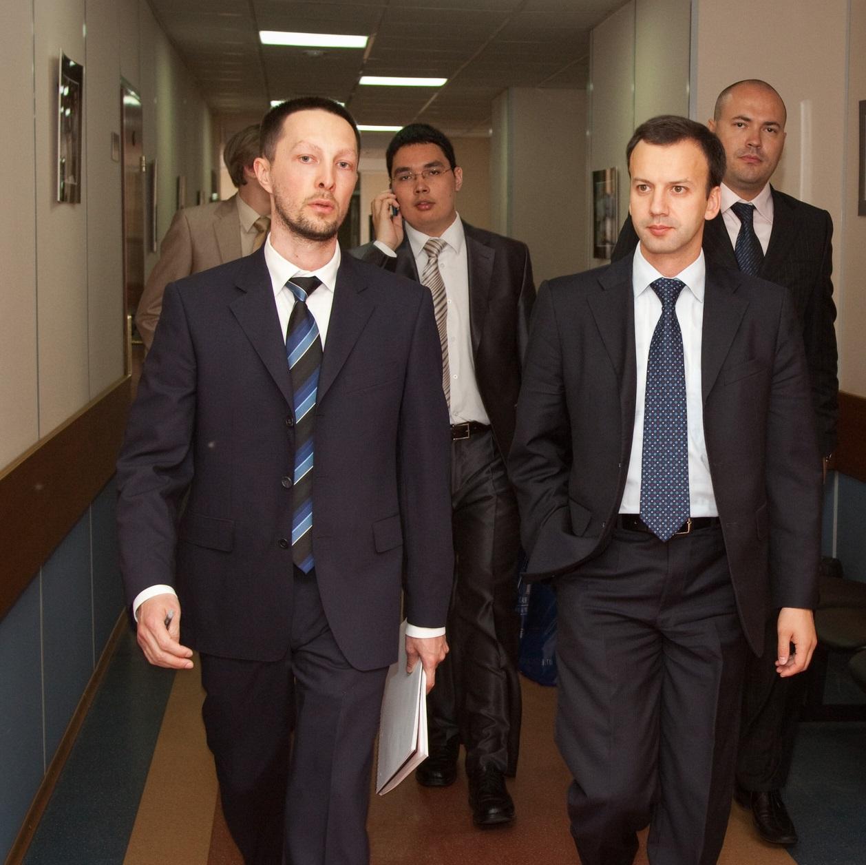 Аркадий Дворкович посетил Университет «Синергия»