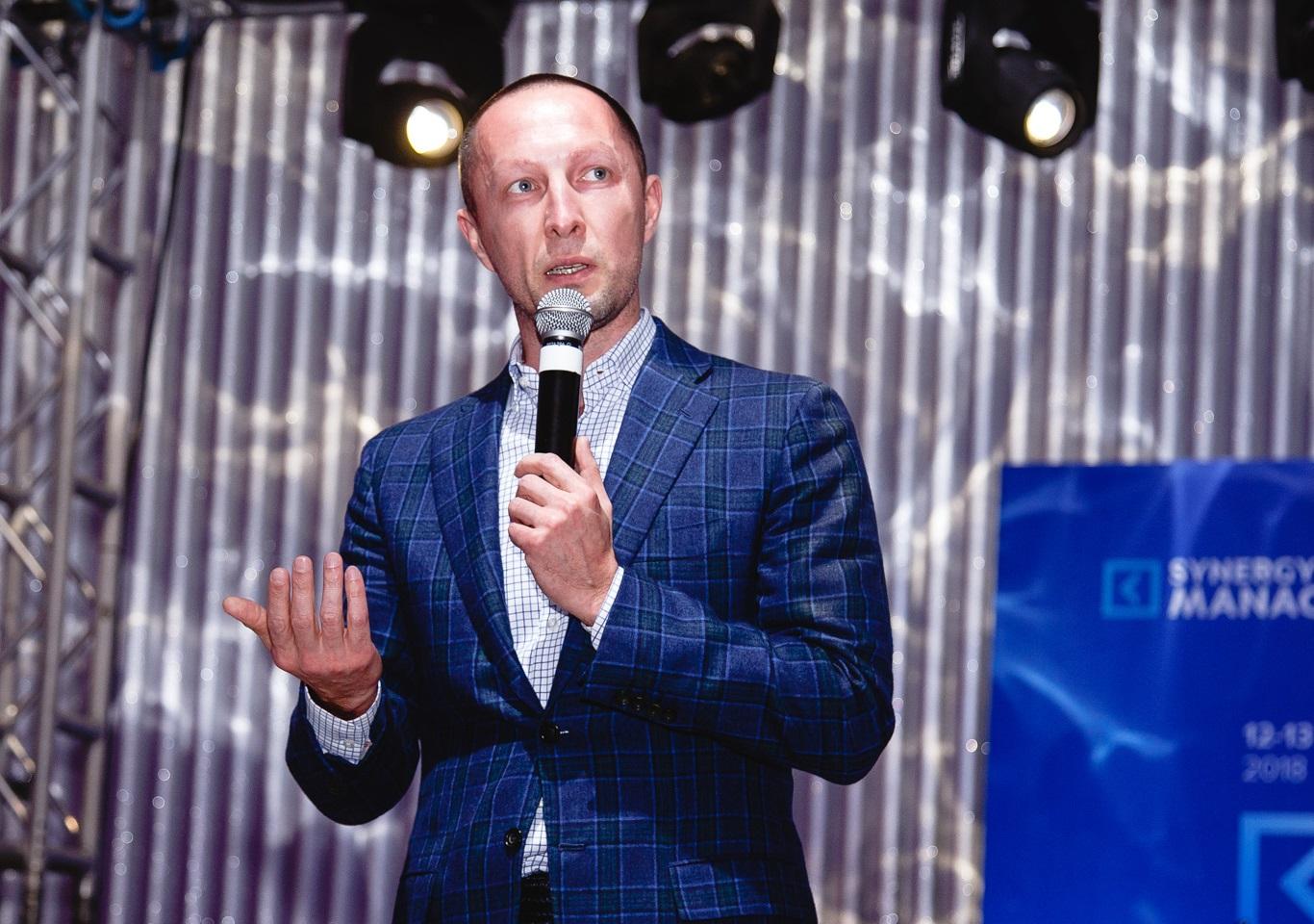 Выступление Вадима Лобова на Synergy Management Camp