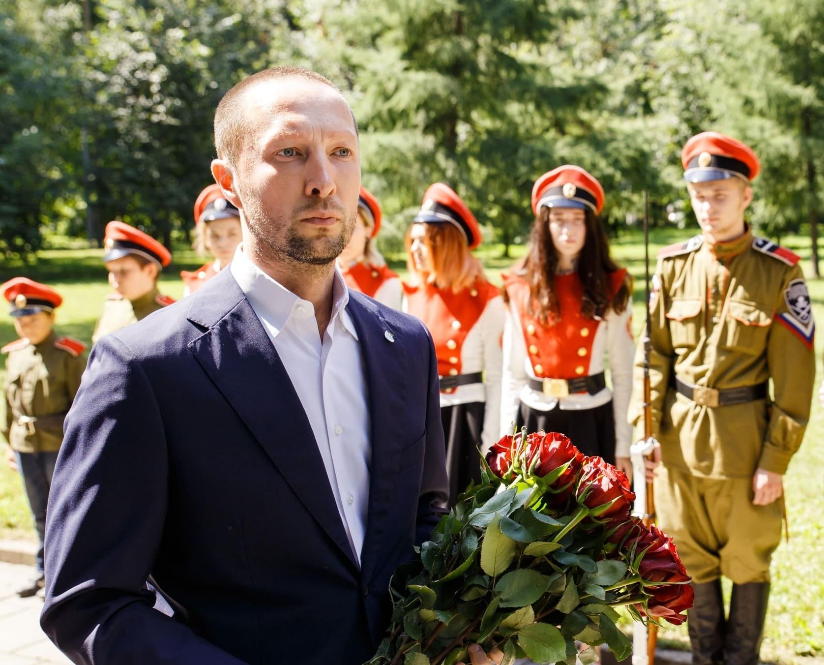 Вадим Лобов на праздновании Дня победы 9 мая