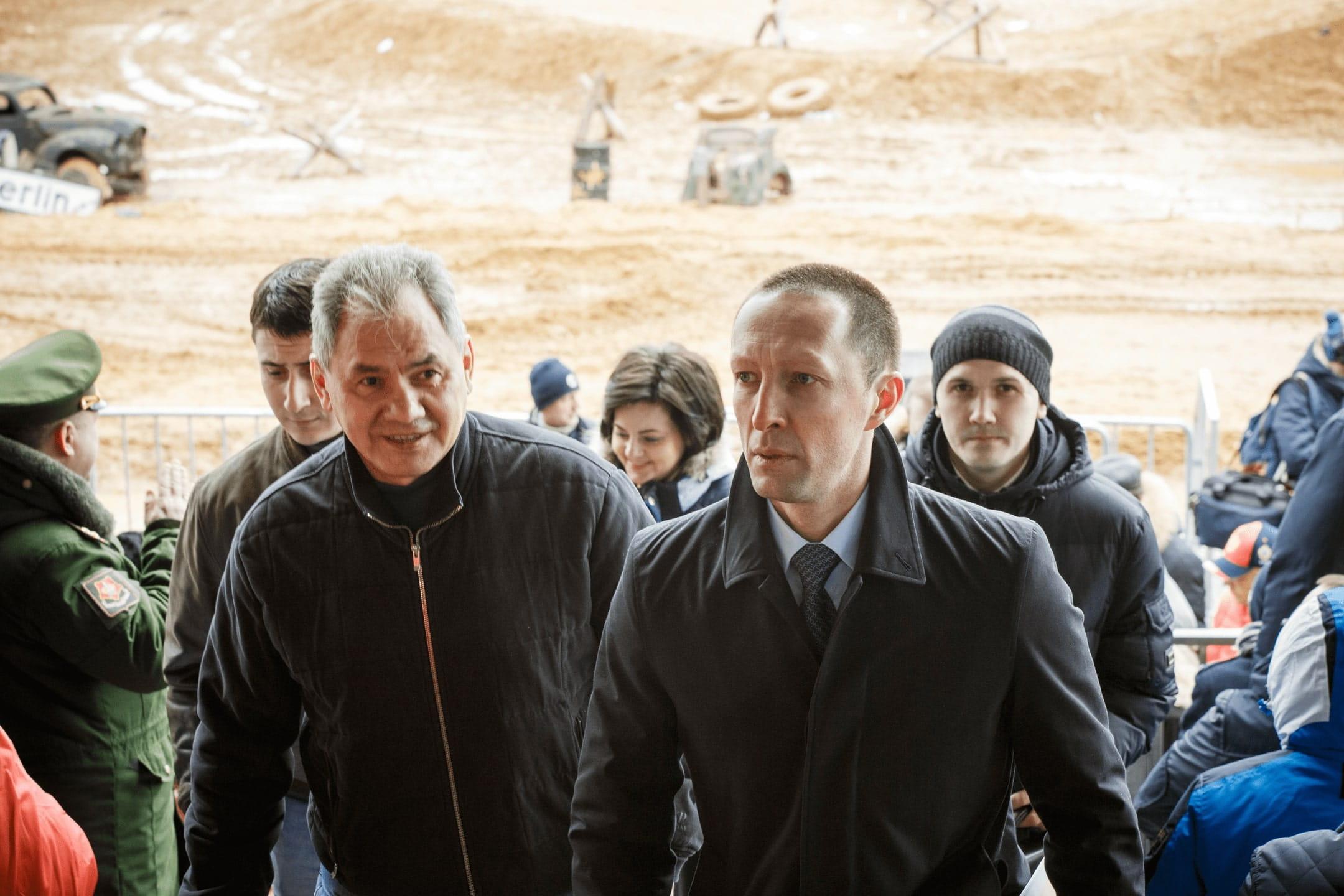 Сергей Шойгу посетил военно-историческую реконструкцию «Штурм Берлина»