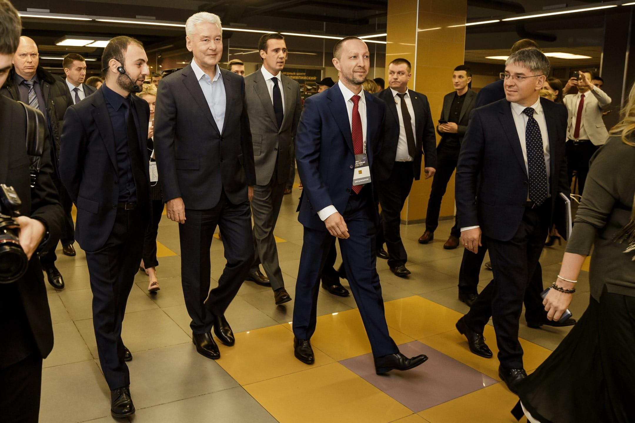 Сергей Собянин на форуме «Трансформация»