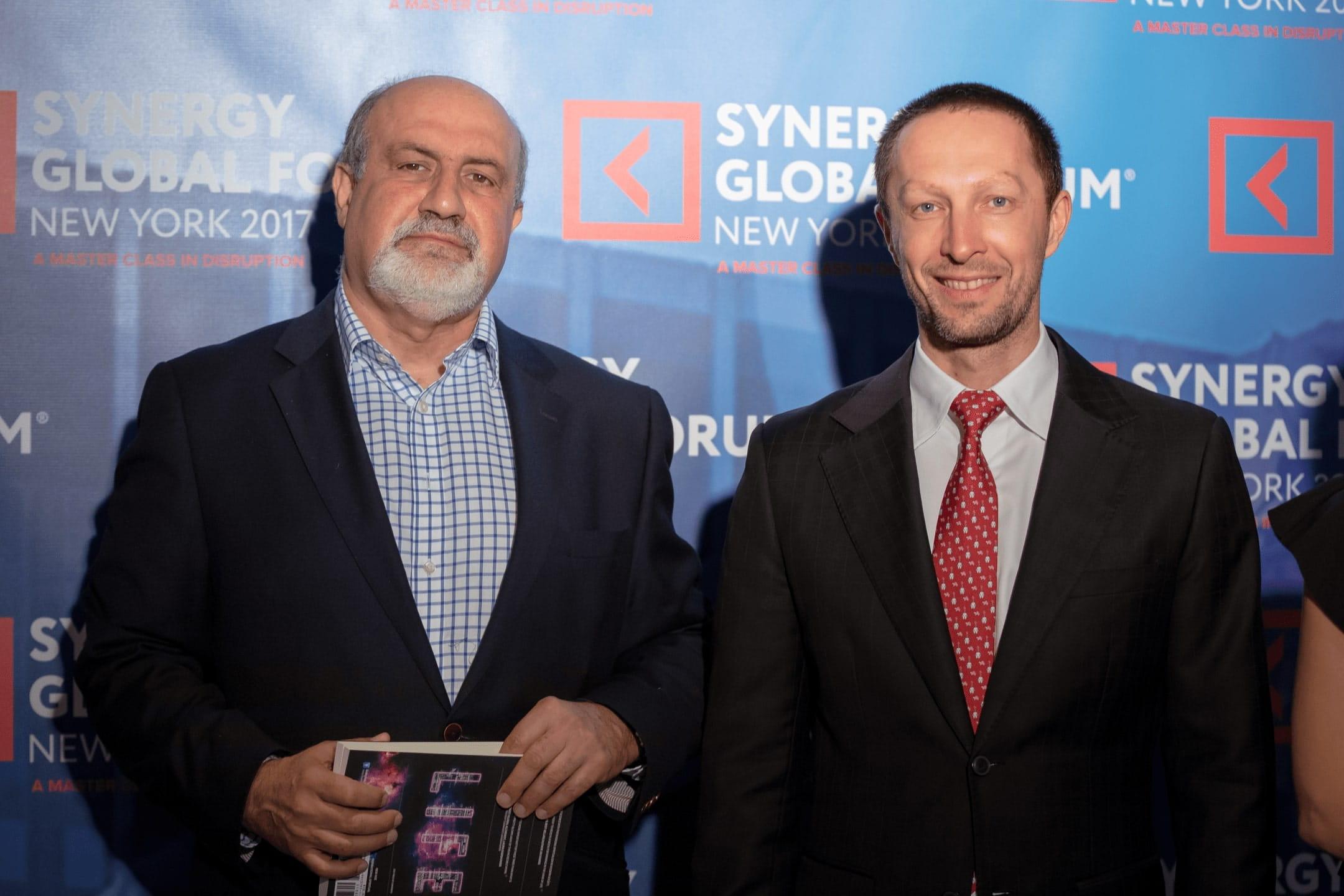 Нассим Талеб на Synergy Global Forum в Нью-Йорке